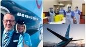 Pilotos y tripulantes de TUI Airways se suman como personal sanitario a la campaña de vacunación