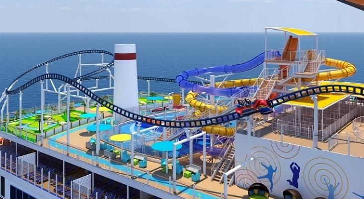 La industria de los cruceros trata de salvarse con nuevas atracciones | Foto: El barco Mardi Gras de Carnival Cruises