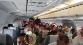 Los vuelos a ninguna parte en R. Dominicana, se saltan las medidas contra el Covid