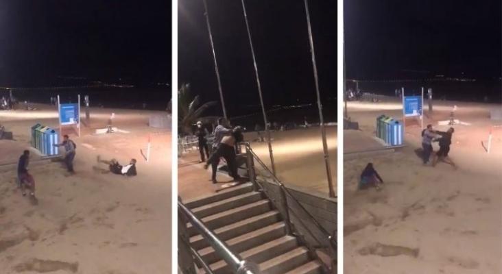 Los actos violentos de inmigrantes del sur de Gran Canaria se extienden a otras zonas turísticas