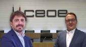 Jorge Marichal, presidente y José Luis Yzuel, vicepresidente del Consejo de Turismo de la Confederación Española de Organizaciones Empresariales (CEOE),
