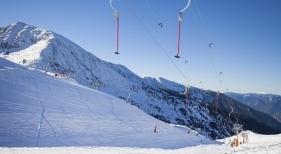 Pista de esquí en Andorra
