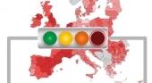 Semáforo coronvairus Europa