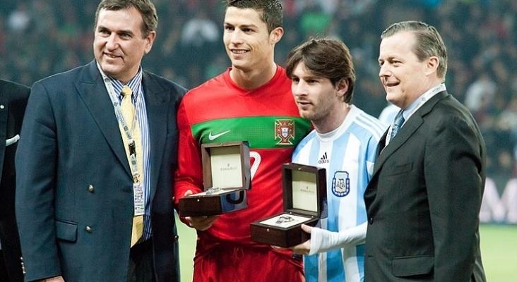 Cristiano Ronaldo y Leo Messi|Foto: Fanny Schertzer (CC BY 3.0)