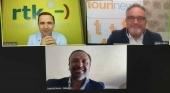 Juan Miguel Ferrer, CEO de Palma Beach; Thomas Bösl, CEO de rtk Group y portavoz de QTA; e Ignacio Moll, CEO de Tourinews.