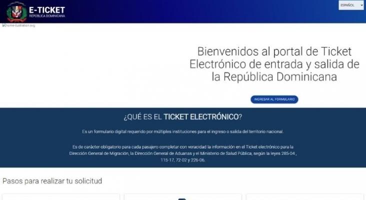 República Dominicana prorroga hasta el 1 de abril los documentos de viaje en papel
