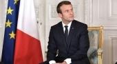 Francia prorroga el estado de emergencia sanitaria hasta el 1 de junio, pero no prohíbe los viajes  En la imagen, Emmanuel Macron, presidente de la República Francesa  Foto Kremlin.ru (CC BY 4.0)