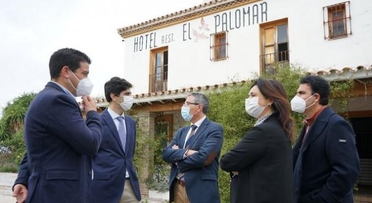 El hotel El Palomar de Coín (Málaga) será reconvertido en albergue municipal para alojar senderistas  Foto Twitter Ayuntamiento de Coín (Málaga)