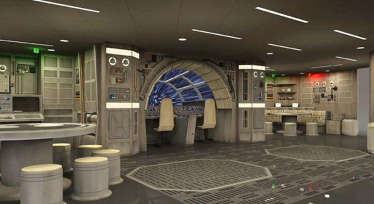 Imágenes del aspecto del hotel inspirado en Star Wars