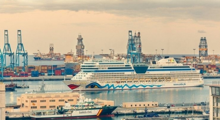 Los cruceros de AIDA volverán a Canarias a partir del 20 de marzo.