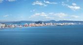 Vista aérea de La Manga del Mar Menor, en Murcia Foto Sergio González