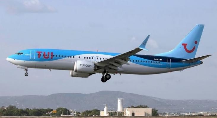 TUI Fly Belgium, primera aerolínea europea en retomar los vuelos con el 737 MAX. Foto de Pedro Aragao. Wikimedia Commons.