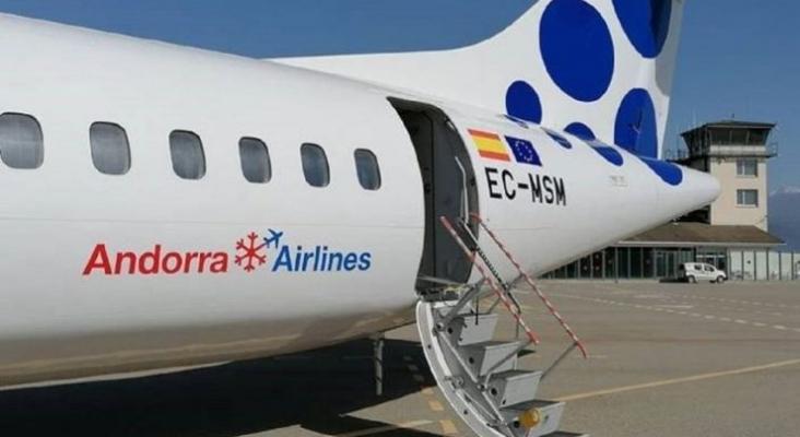 Andorra Airlines levanta el vuelo gracias a un acuerdo con Canaryfly. Foto por Cadena Ser.