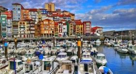 Puerto de Bermeo, en Vizcaya