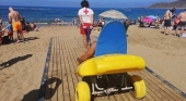 La accesibilidad de la playa de Las Canteras (Gran Canaria), ejemplo de buenas prácticas para la OMT | Foto: Mi playa de Las Canteras
