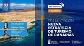Turismo de Canarias presentará el próximo 3 de marzo su nueva estrategia de transformación