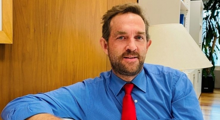 España quiere coordinar con Reino Unido la introducción del certificado de vacunación para verano  En la imagen, Fernando Valdés, Secretario de Estado de Turismo [Foto Twitter Secretaría de Estado de Turismo]