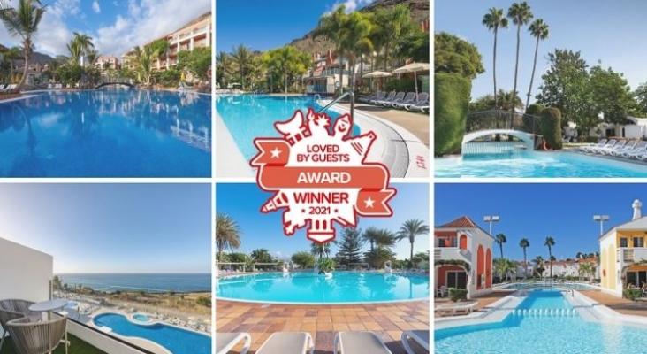 """Seis establecimientos de be Cordial Hotels & Resort premiados con el """"Loved By Guests"""" 2021"""