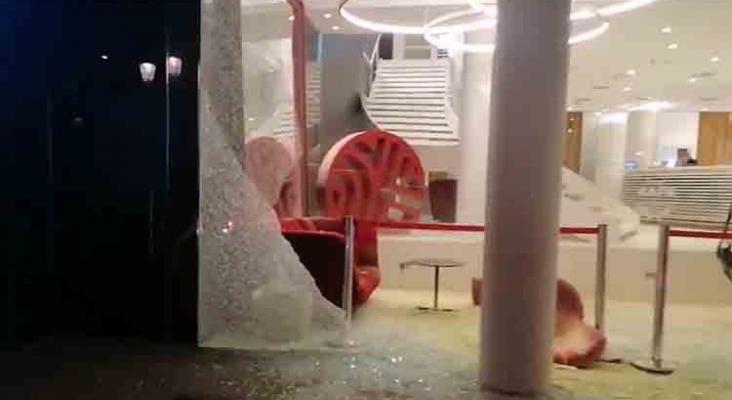 Las Ramblas de Barcelona, zona de saqueo de comercios y hoteles| Foto; E-Notícies