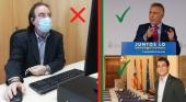 A la izquierda, Amós García, presidente de la AEV. Arriba a la derecha, Ángel Víctor Torres, presidente del Gobierno de Canarias. Abajo a la derecha, Iago Negueruela, conseller del turismo balear. Fotos Gobcan y  CC BY SA 1.0