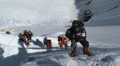 Escaladores en el Monte Everest