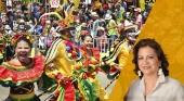 Carla Celia Martínez-Aparicio, directora del Carnaval de Barranquilla (Colombia),