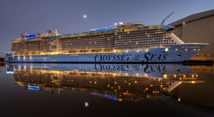 Royal Caribbean apuesta por primera vez por Israel gracias al buen ritmo de vacunación. Odyssey of the Seas. Foto royalcaribbeanpresscenter.com