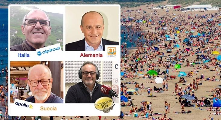 Verano de 2021: Las previsiones turísticas de Italia, Alemania y Escandinavia