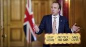 Matt Hancock, ministro de Sanidad británico | Foto: Andrew Parsons / No 10 Downing Street (CC BY-NC-ND 2.0)