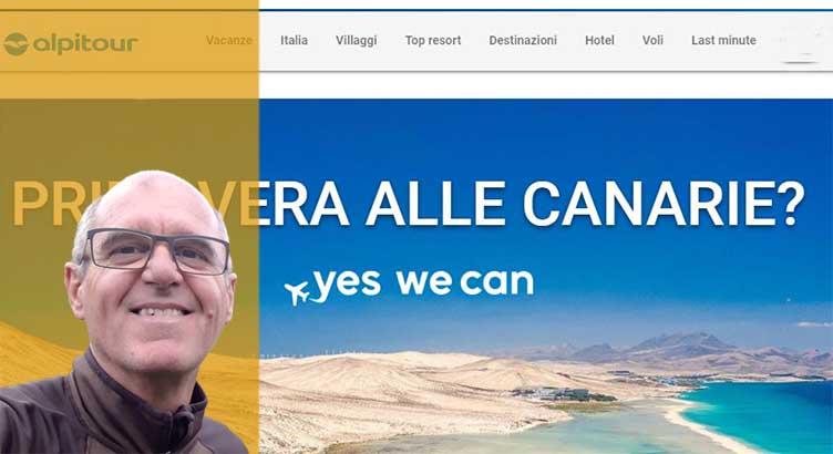 """""""La fecha de la reactivación del turismo ya la tenemos para Canarias y Baleares"""" Bruno Squillario, contracting manager de Alpitour"""