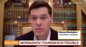Alexei Mordashov Durante su entrevista con Bloomberg