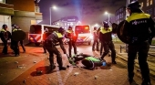 Países Bajos frena los disturbios por las restricciones Covid|Foto: Policía de Países Bajos