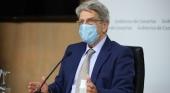 Julio Pérez, consejero de Administraciones Públicas del Gobierno de Canarias, admite que las islas no pueden asumir la acogida de todos los inmigrantes