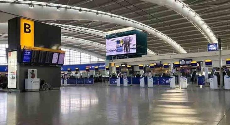Terminal del aeropuerto de Heathrow