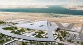 Paralizan la construcción de un nuevo aeropuerto internacional en Lisboa (Portugal). Foto de Vinci. Recuperado de www.publico.es.