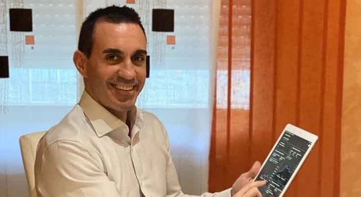 """""""Todas las agencias de viaje, touroperadores y empresas del sector esperamos un repunte brutal""""   Foto; Daniel Pérez fundador y CEO de profesionalesmarketing.es"""