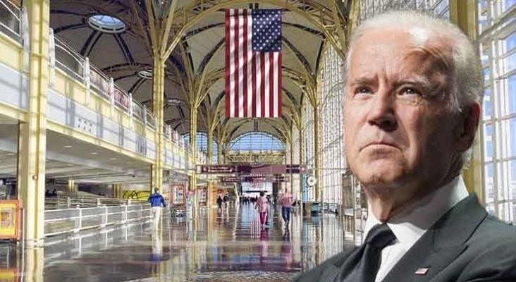 EE.UU Aeropuerto Ronald Reagan | Joe Biden, presidente de EE.UU.
