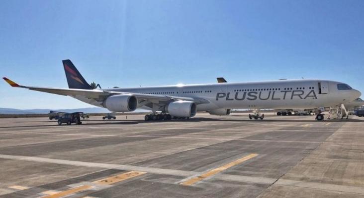 Foto: Airbus de Plus Ultra Líneas Aéreas