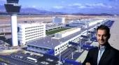Aeropuerto de Atenas con Harry Theocharis. Foto de news.gtp.gr