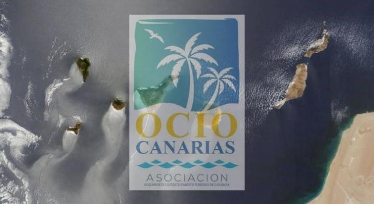 Asociación de Empresario de Ocio, Deporte y Entretenimiento Turístico de Canarias (Ocio Canarias). Imagen aérea de las Islas Canarias. ARCHIVO