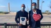 Juan Miguel Ferrer(dcha) y Pedro Marín, CEO y gerente de Palma Beach respectivamente