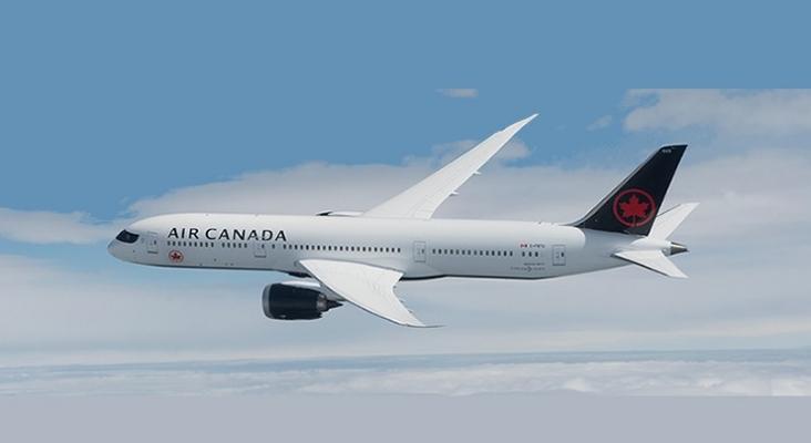 Avión de Air Canadá   Foto www.aircanada.com