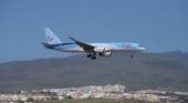 Un avión de TUI aterriza en el aeropuerto en Gran Canaria   Foto Ángel Ortiz Suárez