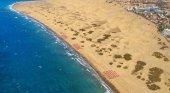 Playa de Maspalomas, en Gran Canaria