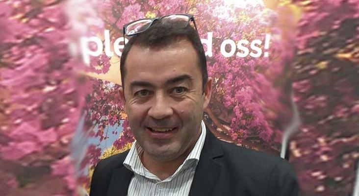 Juan Fernando Suárez, representante turístico en los Países Nórdicos