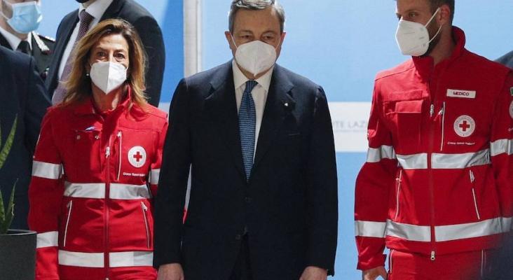 Italia confinada, Mario Draghi