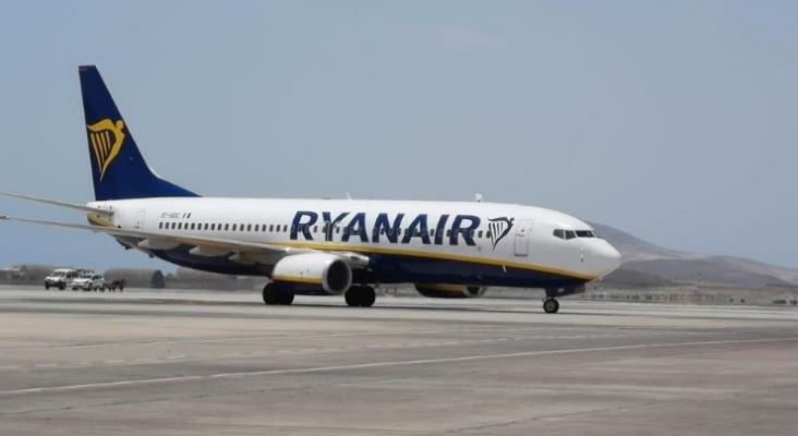 Avion de Ryanair. Foto Tourinews