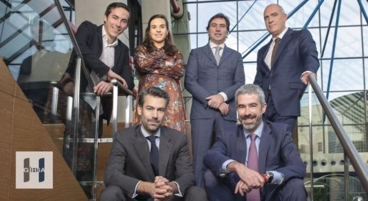 Equipo directivo del Grupo Inversor Hesperia - GIHSA - Archivo