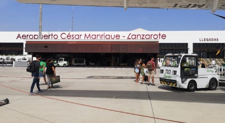 Aeropuerto César Manrique Lanzarote   Foto  Tourinews