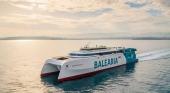 Baleària estrenará el primer 'fast ferry' a gas natural del mundo en abril